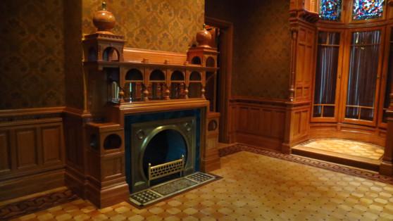 Moorish sitting room at the Driehaus Museum