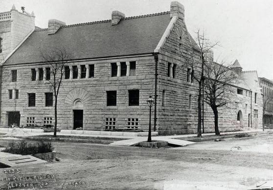 The John Glessner House in Chicago, historic photo