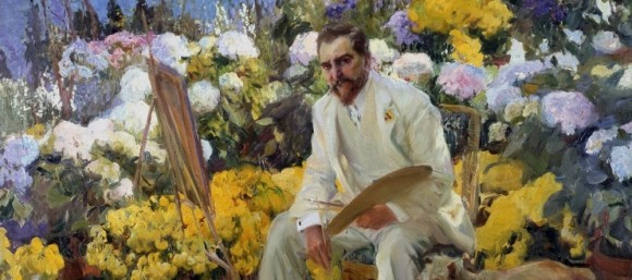 Portrait of Louis C. Tiffany by the painter Joaquín Sorolla.