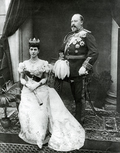 King Edward and Queen Alexandra.