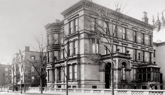 The Samuel M. Nickerson House, 1883.