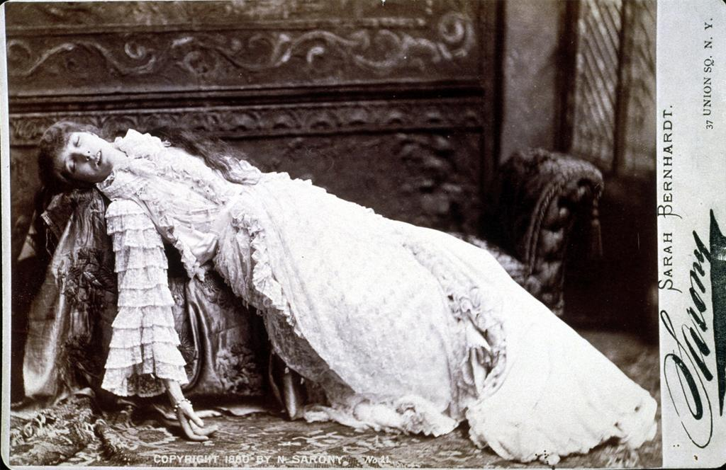 c. 1880. Photography by Sarony.