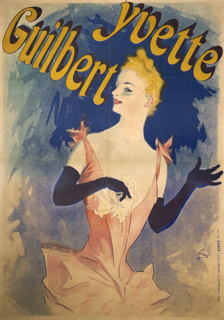 Yvette Guilbert: Au Concert Parisien, 1891.