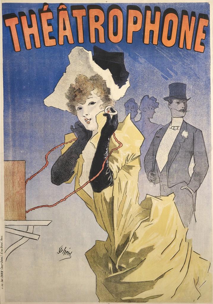 Théâtrophone, 1890.