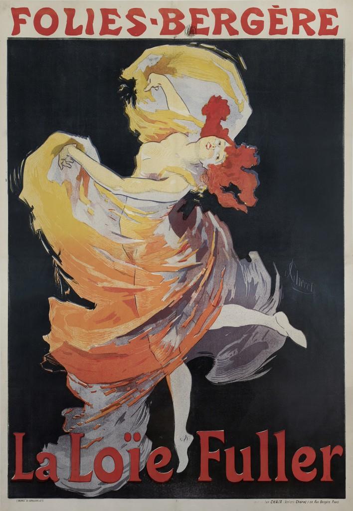 Folies-Bergère: La Loïe Fuller, 1893.