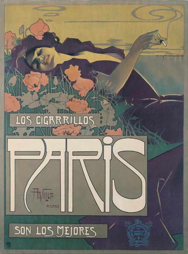 """Aleardo Villa, """"Cigarrillos Paris: Son Los Mejores."""""""