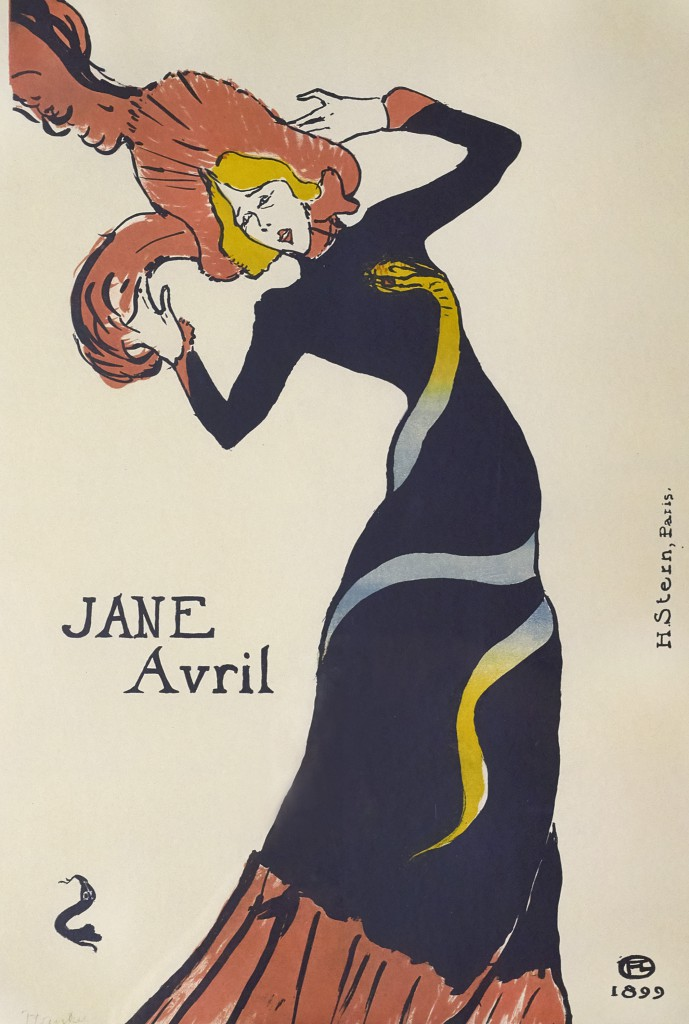 Henri de Toulouse-Lautrec (French, 1864–1901). Jane Avril, 1899. The Richard H. Driehaus Collection.