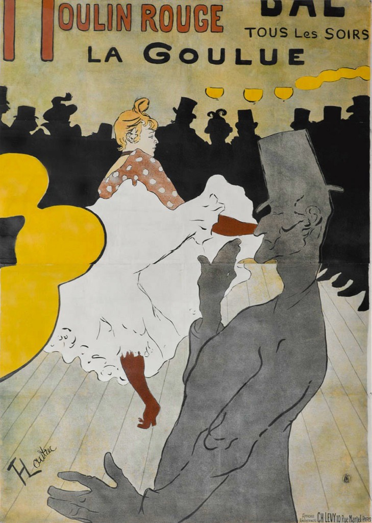 Henri de Toulouse-Lautrec (French, 1864–1901).  Moulin Rouge: La Goulue, 1891. The Richard H. Driehaus Collection.