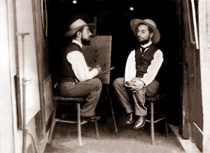 Mr. Toulouse Paints Mr. Lautrec