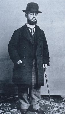 Henri de Toulouse-Lautrec in 1894, at the age of 30.