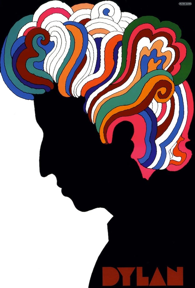 Milton Glaser (American, ). Dylan, 1966. From the collection of the Museum of Modern Art, New York.