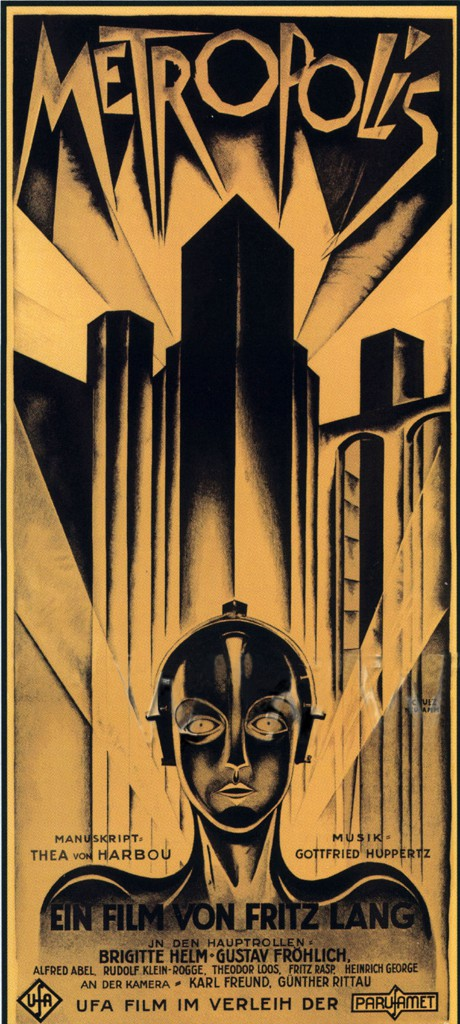 Heinz Schulz-Neudamm (German, 1899–1969). Poster for Metropolis, 1926. From the collection of the Museum of Modern Art, New York.