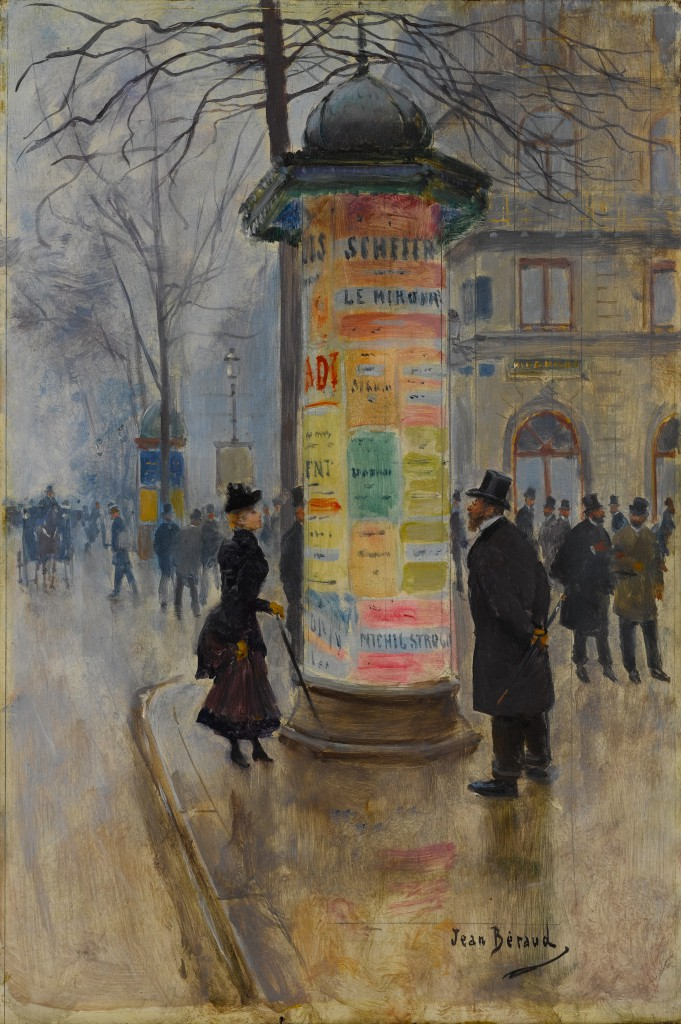 Jean Béraud, Parisian Street Scene, ca. 1885. The Metropolitan Museum of Art, New York.